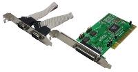 PCI Karte 1 x parallel 2x seriell