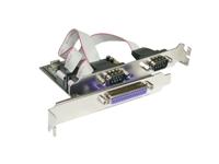 PCI Express Karte 1 x parallel 2x seriell