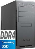 AMD Ryzen 3 1200 4096MB DDR4 250GB SSD Cardreader GT710