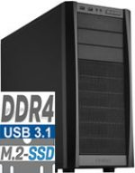 AMD Ryzen 7 1800X 16384MB DDR4 500GB SSD Cardreader GTX1060