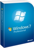 Microsoft Windows 7 Professional 64Bit DVD DSP deutsch