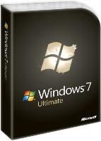 Microsoft Windows 7 Ultimate 64Bit DVD DSP deutsch